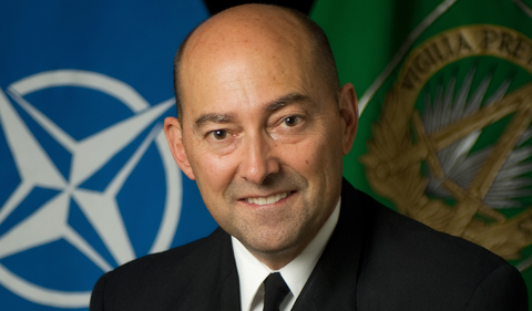 Adm. (ret.) James Stavridis, portrait