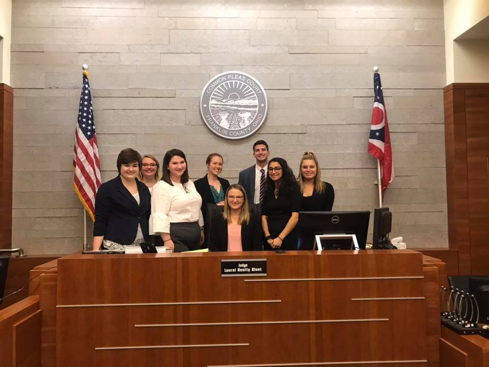 Mock Trial Team Competes at Scarlet and Gray Invitational