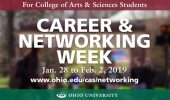 Career Week | Arts & Sciences Career & Networking Week, Jan. 28-Feb. 2