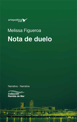 book cover for Melissa Figueroa's Nota de duelo