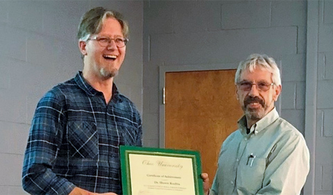 Kuchta Gets Rakowski Award for Outstanding Research in Biological Sciences