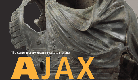 The Contemporary History Institute presents a stage reading of the play Ajax, a 2,000-year-old Greek tragedy that reveals the timelessness of the veteran experience, on Feb. 2 from 1 to 3 p.m. at the Athena Cinema.