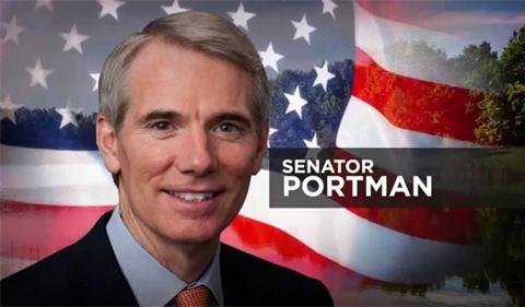Senator Rob Portman, portrait