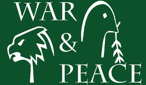 War and Peace theme logo