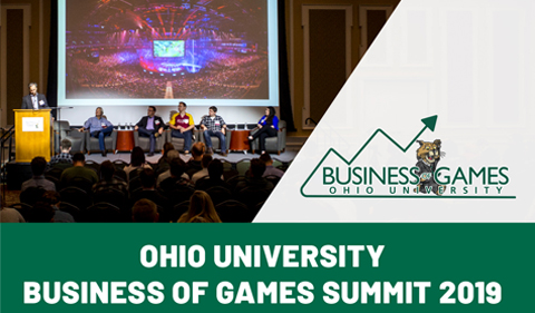 Business of Games summit 2019 at Ohio University