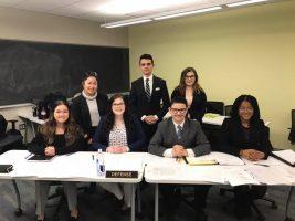 OHIO Mock Trial Competes in Cincinnati, Brooks Wins Best Witness Award