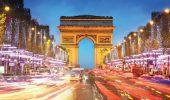 The Avenue des Champs-Élysées in Paris