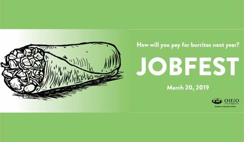jobfest 2019: march 20, How will you pay for your burritos next year?
