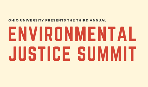 Ohio University Presents the Third Annual Environmental Justice Summit
