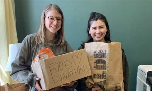 Food Studies Holds Food Drive for Cat's Cupboard