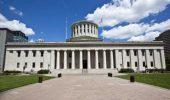 The Ohio Statehouse in Columbus, Ohio