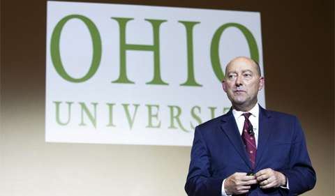 Admiral (ret.) James Stavridis at the Baker Peace Conference
