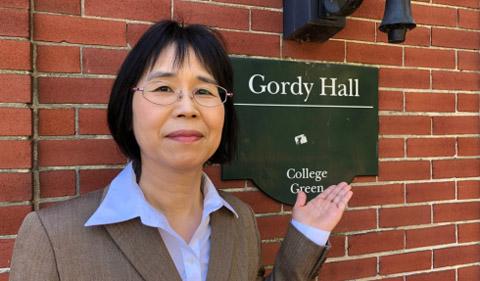 Alumna Fumiko Yoshimura, Visiting Scholar in Linguistics Department