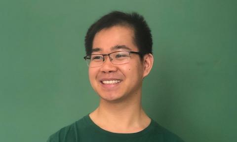 OHIO graduate student Simon Li