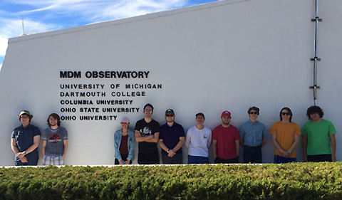 Daniel Ivory and Group at MDM Observatory