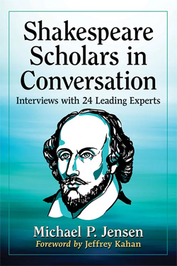 Book cover for Shakespeare Scholars in Conversation