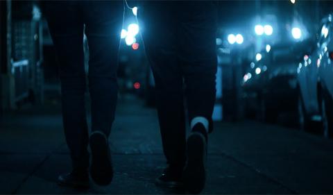 Start by Believing, photo of dark street at night