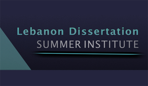 Lebanon Dissertation Summer Institute logo