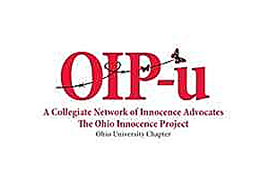 Ohio Innocence Project-u logo for Ohio University chapter