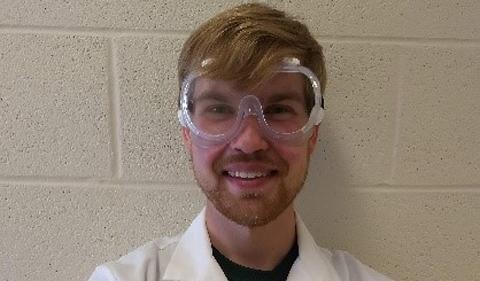 Rex Cosgrove, portrait in lab coatt