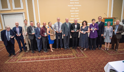 Newsmakers Gala Touts 112 A&S Faculty Researchers
