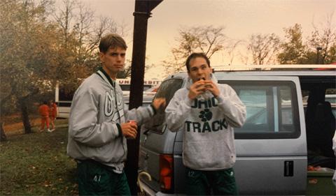 Chamberlain and track team