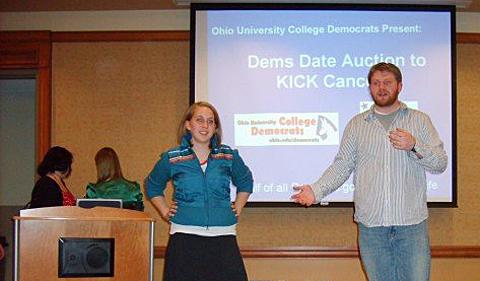 The Dorans at College Democrats event