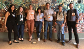 Geological Sciences students and alumni attending the GSA annual meeting in Phoenix