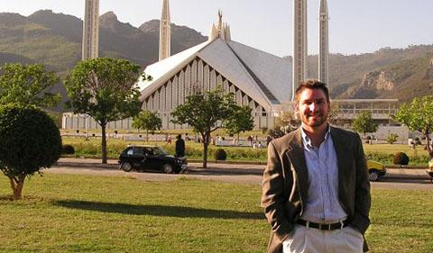 Jason Rosselot in Islamabad