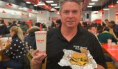 Sam Chamberlain, COO of Five Guys