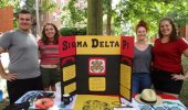 Sigma Delta Pi Kicks Off Fall with Hocking Hills, Movie Night, More