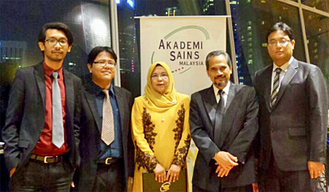 Dr. Zainuriah Hassan at Academy of Sciences in Malaysia