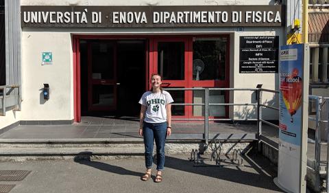Miranda Carver in Italy