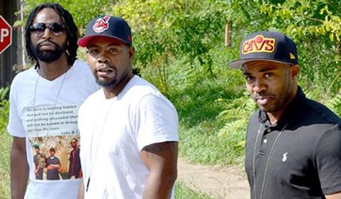 Group photo of Eugene Johnson, Derrick Wheatt and Laurese Glover