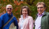 From left, James Stratman, Michelle O'Malley and David Bell