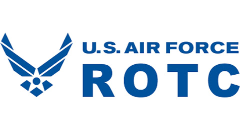 US Air Force ROTC logo, with wings