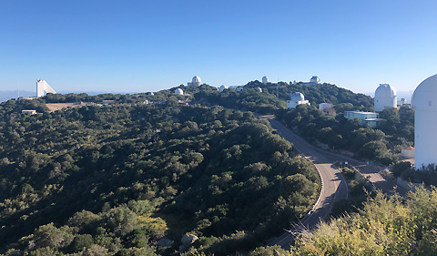 Kitt Peak observatories by Joe Fradette 480px