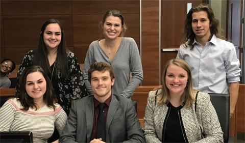 OHIO mock trial prosecution team