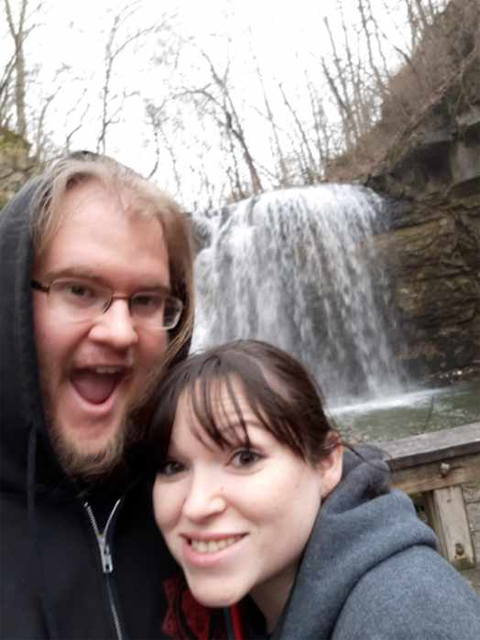 Colin Williams and Denielle take a day trip to Hayden Falls.