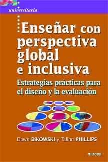 book cover for Enseñar con perspectiva global e inclusiva