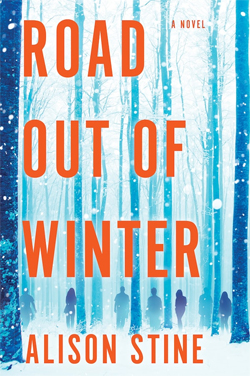 Book cover for Road out of Winter by Alison Stine