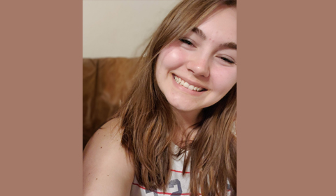 a selfie of Kayley McCormick