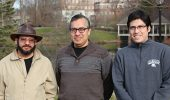 Physicists Edson Vernek, Sergio Ulloa, and Oscar Ávalos-Ovando