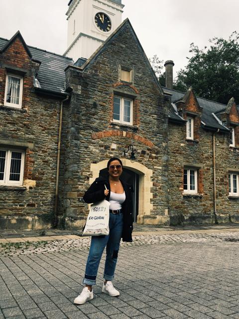 Alexis Karolin at Swansea University