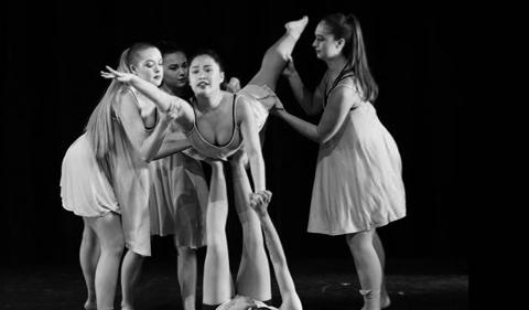 Alexis Karolin dancing