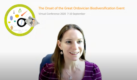 "Dr. Alycia Stigall hosts ""The onset of the Great Ordovician Biodiversification Event."""