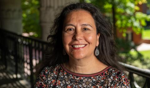 Dr. Claudia González Vallejo, portrait