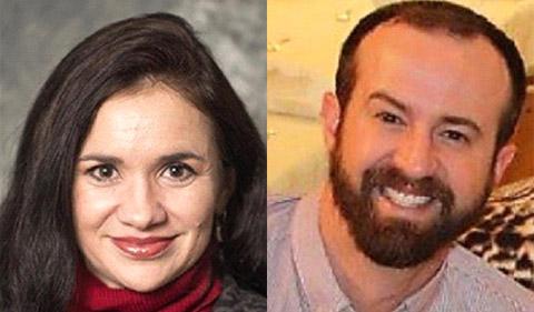 Gabriela Castañeda-Gleason and Jordan Wagner