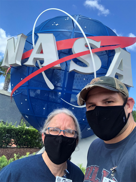 Drs. Sarah Wyatt and Alexander Meyers at NASA