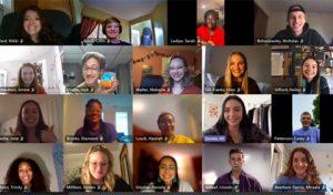 Virtual mock trial practice